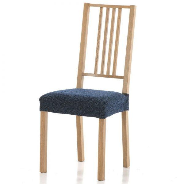 potah na sedák na židli Petra modrá