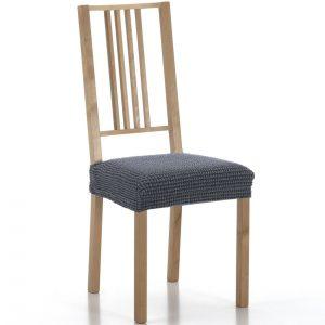 potah na sedák na židli Sada modrá