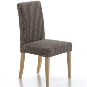 potah na židli Sada hnědá