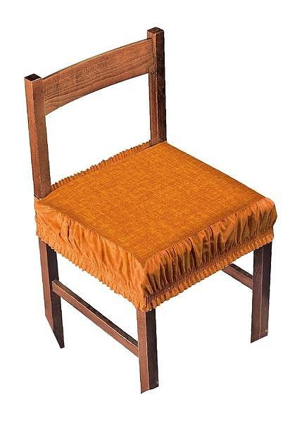 Potah na židli s okrajem  - Potahy (napínací a elastické)