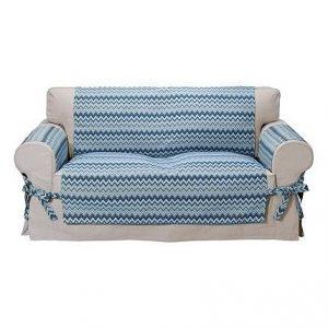 Přehoz na sedačku Zigzag  - Potahy (napínací a elastické)