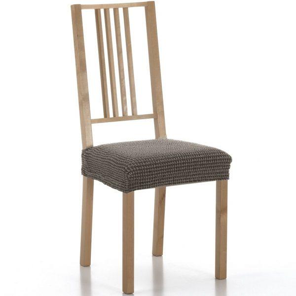potah na sedák na židli Sada hnědá